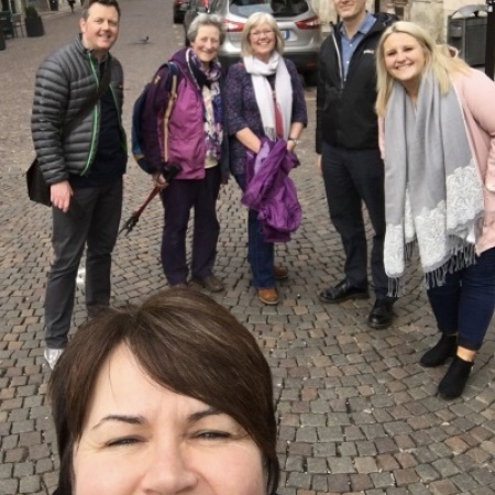 Cumbrian teachers and CDEC represent UK at European conference