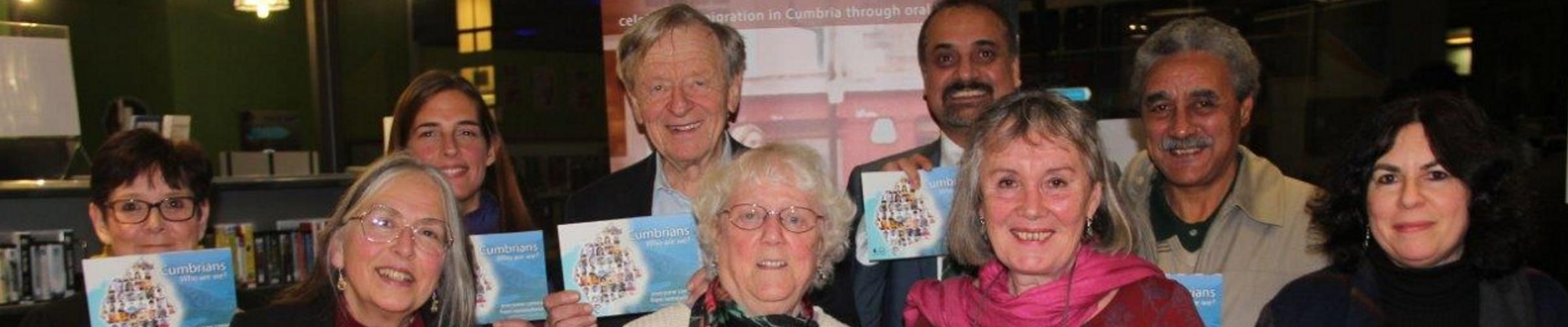 Lottery funding brings stories of migration to even more Cumbrians
